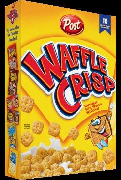 Waffle Crisp cereal. BEST CEREAL EVER!