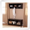 Prepac Sonoma Black Cubbie Bench - Indoor Benches at Benches  Perfect for our closet/mudroom