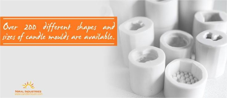 Candle Mould  Over 200 different shapes and sizes of candle moulds are available.  #CandleMould #Shapes #Moulds #Stock #Mumbai #Candle