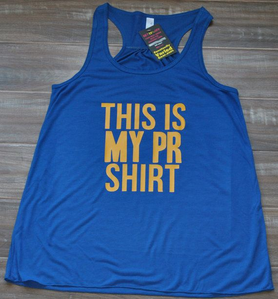 This Is My PR Shirt Racerback Tank Top - Crossfit Tank Top - Fitness Tank Top