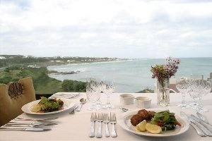 Dining with a view at Agulhas Country Lodge
