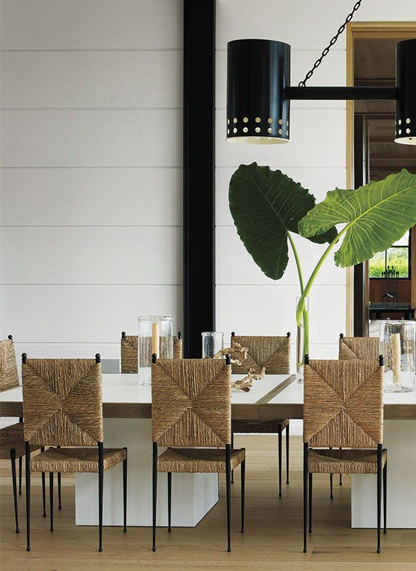 Traditional Beach House Dining Room New York By Timothy Haynes And Kevin Roberts