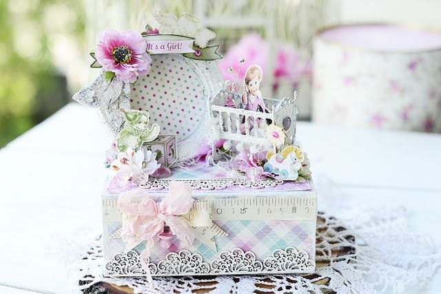 By Ekaterina_Ko: Шкатулка для маминых сокровищ/Box for mother's treasures