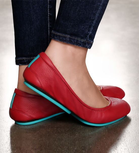 Red alert! Make a statement this season in Cardinal Red Tieks | Tieks Ballet Flats