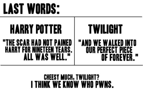 I love Twilight too, but seriously... even I know what's better <3