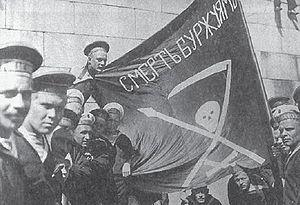 gruppo di marinai della base navale Kronstadt