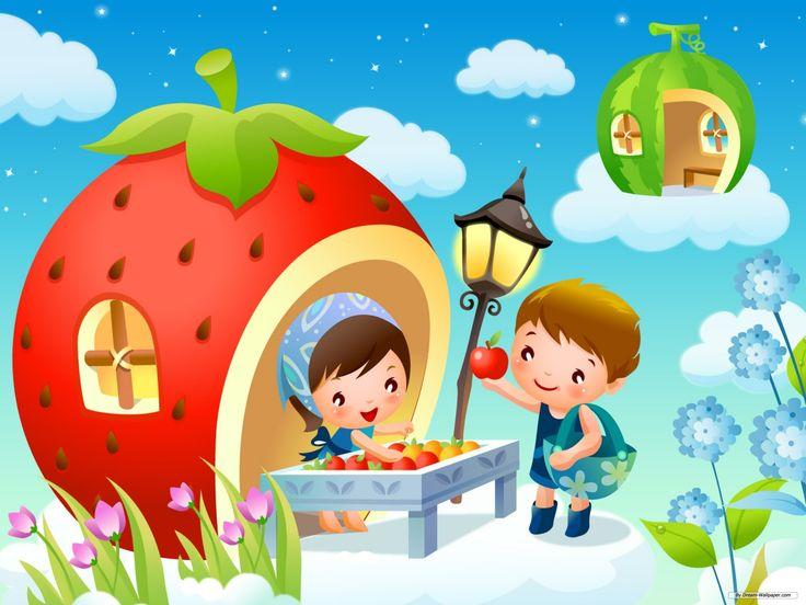 Оформление картинками для детских сайтов