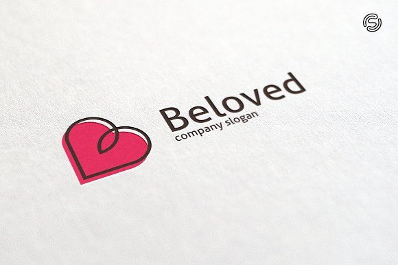 Beloved - Letter B Logo Templates Templates **Logo Template Features**---- CMYK 300 PPI- 100 vector files- Editable and resizable vector f by sarten