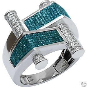 NEW Diamond Pave Gold Men's Hip Hop Ring