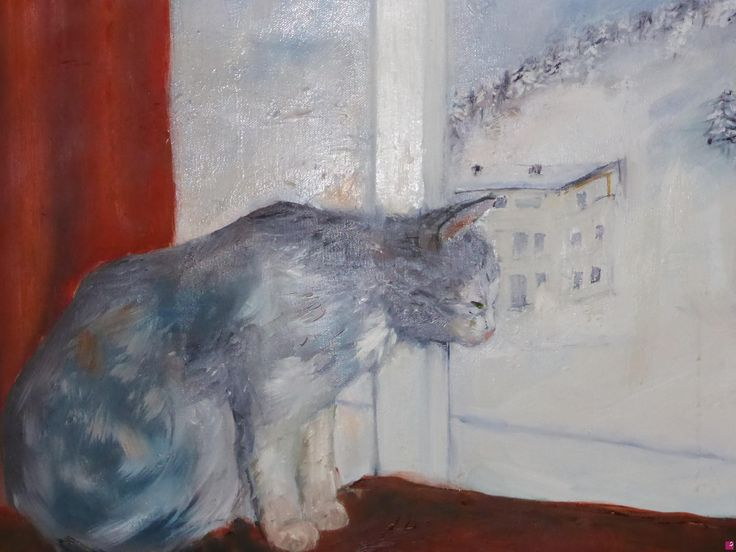 Balthus alla finestra di Gisela Wendy Krüger