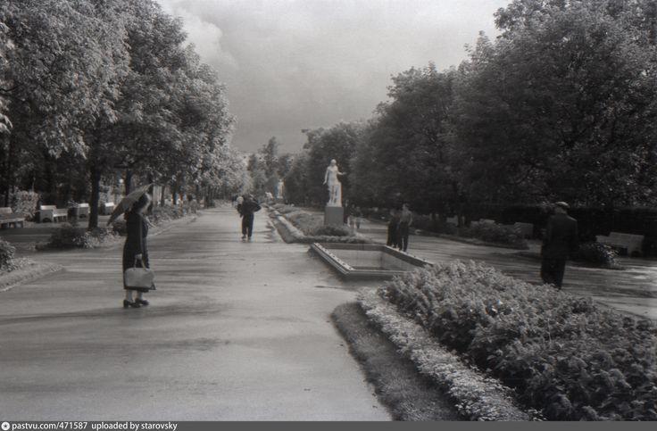 ЦПКиО Главная аллея, 1959