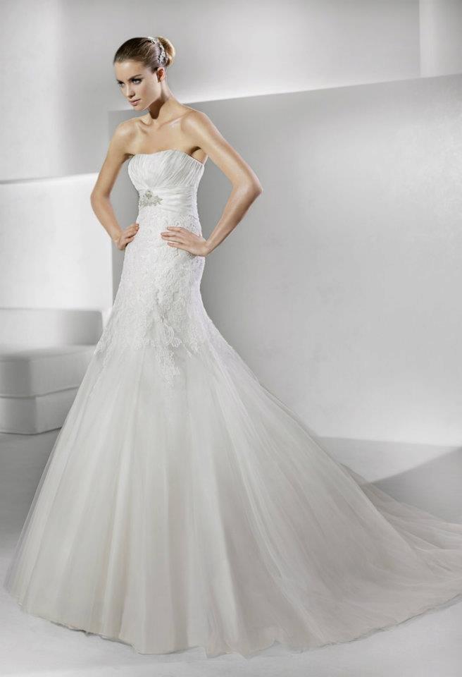 25 best Wedding Dresses by La Sposa images on Pinterest   Short ...