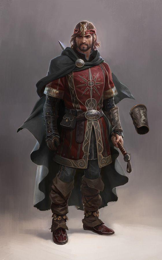 Lord of the Rings Online : Rohirrim Horse Lord - Wesley Burt: