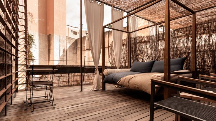 roof terrace Brondo Architect Hotel