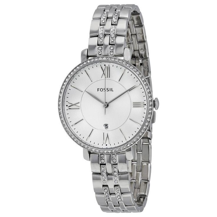 Descubre el nuevo #reloj de mujer de Fossil, el modelo #Jacqueline, una auténtica joya en acero para la muñeca de la mujer. Ya disponible en http://www.todo-relojes.com/detalle.asp?codigo=30756 por 139€ #nuevosrelojes #Fossil #todorelojes