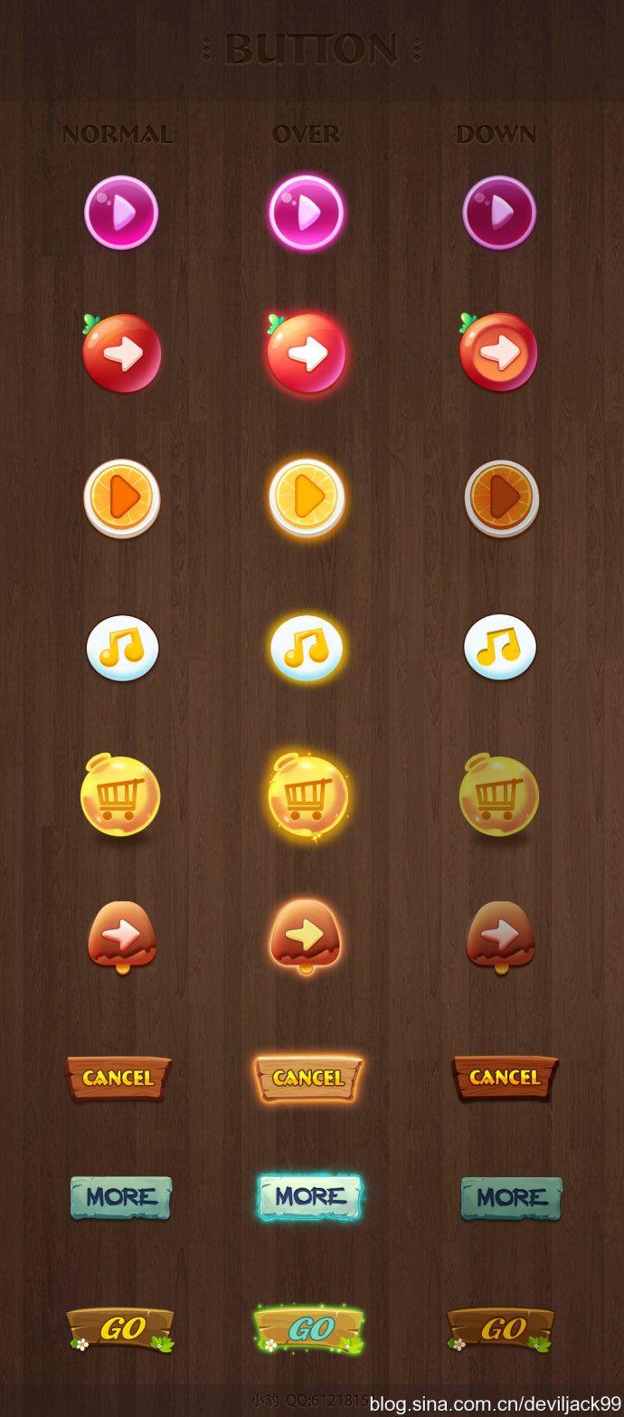 2014-Jack网络手绘基础班(game<wbr>UI/Interface/icon/logo/GUI/art/交互/图标/界面/教程/素材/资源)