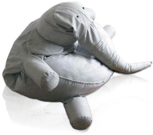 Puf elefante infantil