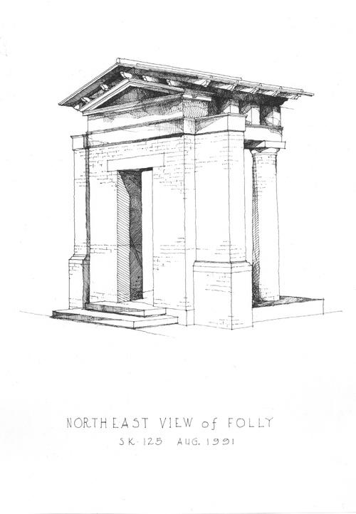 Folly - Porphyrios (Duncan Mc Roberts Sketch)