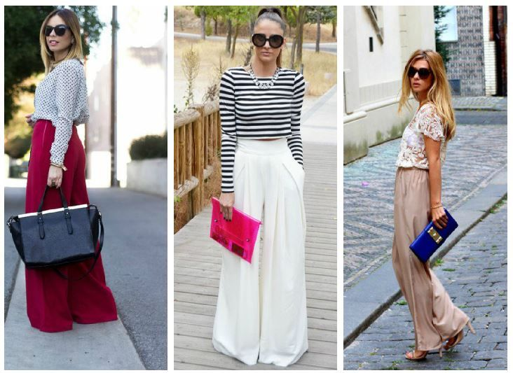 İlkbahar Yaz 2015 Modası Bol Kumaş Pantolonlar