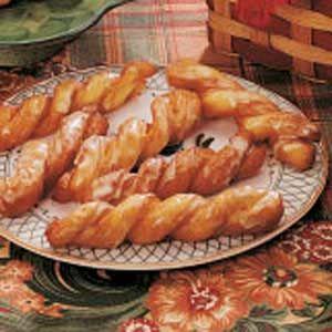 My Grandma's Orange-Glazed Crullers Recipe :)    http://www.tasteofhome.com/Recipes/Orange-Glazed-Crullers