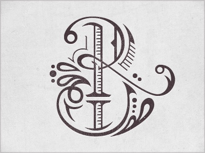 Found type. #lettering #illustration #calligraphy #flourish #ornateJoshua Bullock, Hands Drawn Typography, Art, Hands Types, Graphics Design, A Tattoo, Monograms, Letters, Typography Inspiration