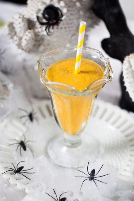 Hemsley & Hemsley: Raw Spiced Squash Smoothie (Vogue.com UK)
