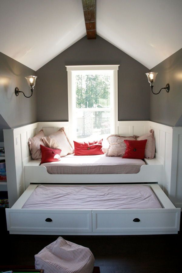 25 best ideas about trundle bed frame on pinterest - Cool queen bed frames ...