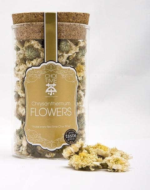 Chrysanthemum Flowers - Choi Time tea jar