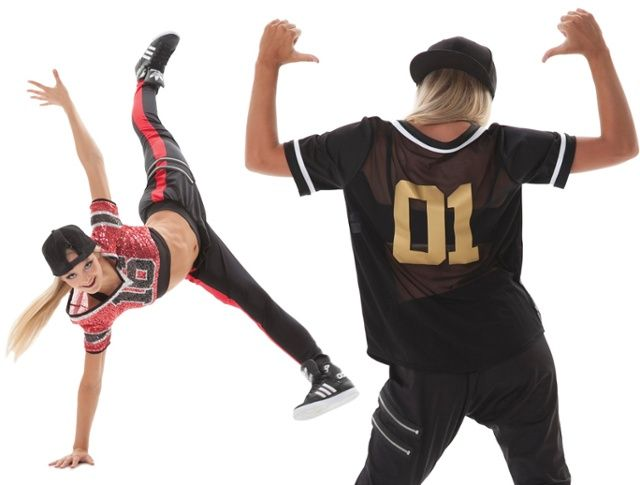 Top Hip Hop dance costume trends - jersey look