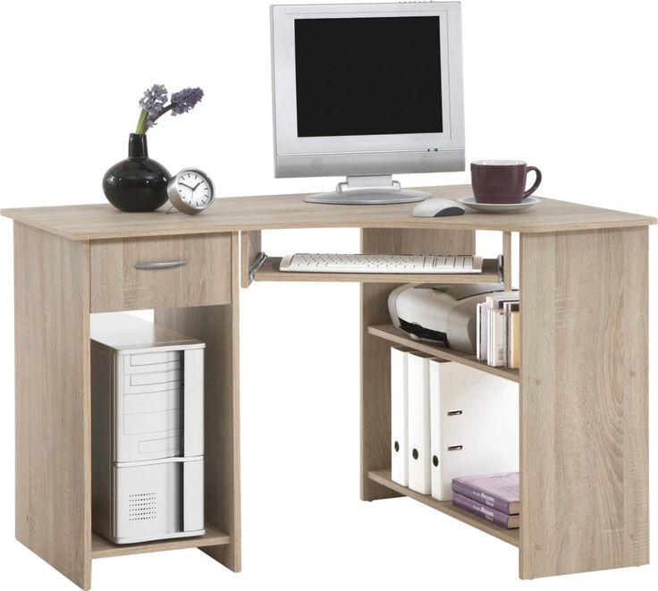 Superb Schreibtisch Felix Sonoma Eiche NB Schreibtische g nstig online POCO
