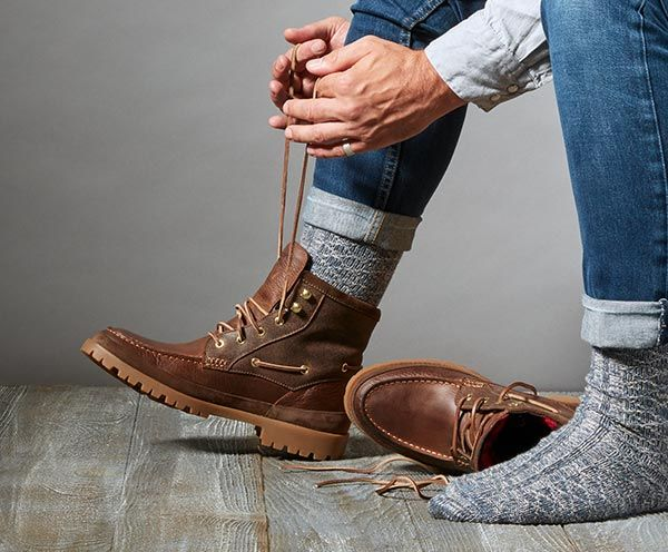 Sperry Mens Waterproof Winter Boots in