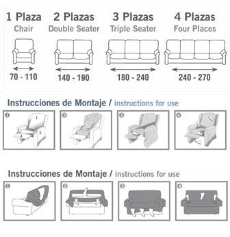 M s de 1000 ideas sobre forros para sofas en pinterest - Como hacer una funda para un sofa ...
