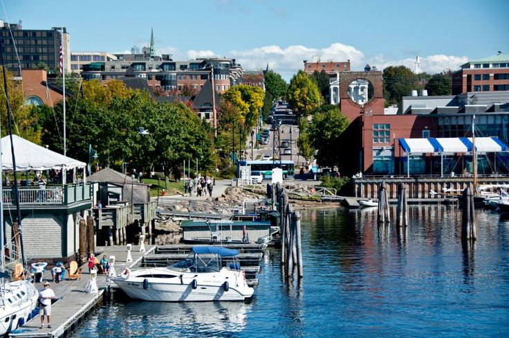 Boats, Marina, Burlington, Vermont