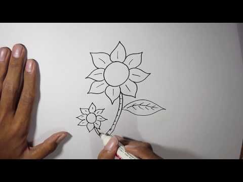 Paling Bagus 21 Gambar Kolase Bunga Melati Cara Menggambar Bunga Untuk Pemula Youtube 3 Cara Untuk Membuat Bunga Kain Wi Sketsa Bunga Sketsa Cara Menggambar