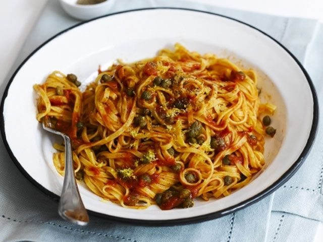 Linguine jamie oliver receitas massas gastronomia for Cocina 5 ingredientes jamie oliver