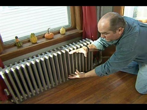 How to Quiet a Banging Steam #Radiator - This Old House