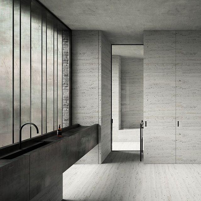 TA Apartment, Antwerp, 2015 by Belgium-based studio Marc Merckx…