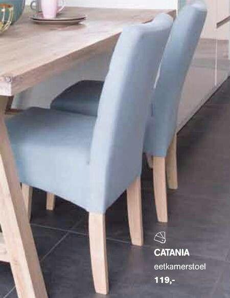 Mooie blauwe stoelen