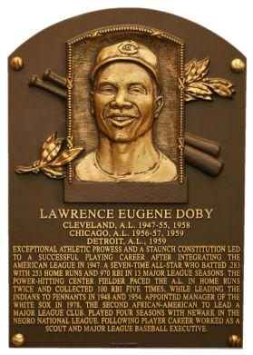 Larry Doby #BlackHistoryMonth #LarryDoby
