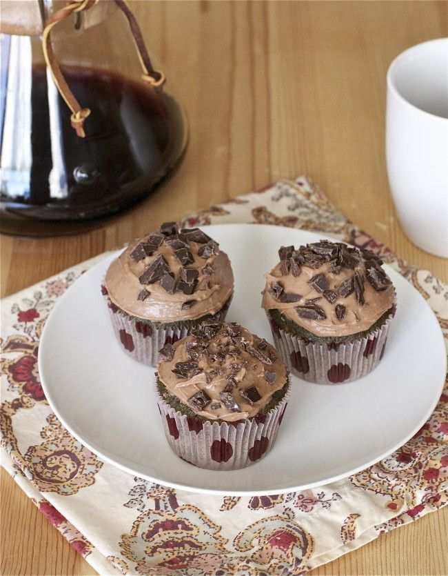 Coffee Cupcakes | Offbeat + Inspired