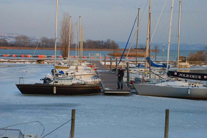 Trasimeno Lake on Ice, Umbria