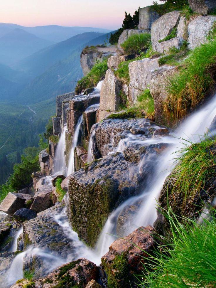 Pancava waterfall , Krkonose NP, Czech Republic : - PixoHub