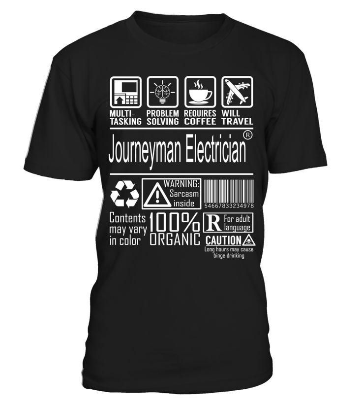 Journeyman Electrician Multitasking Áo sơ mi, Thời trang