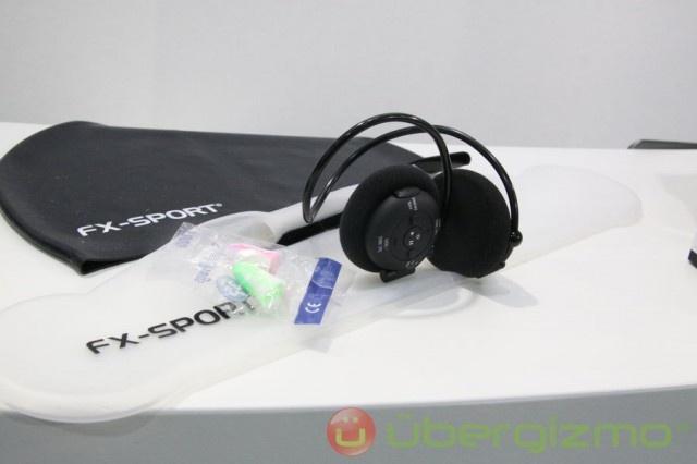 FX Sport: VR1 Programmable Personal Trainer Wireless Sports Headphones