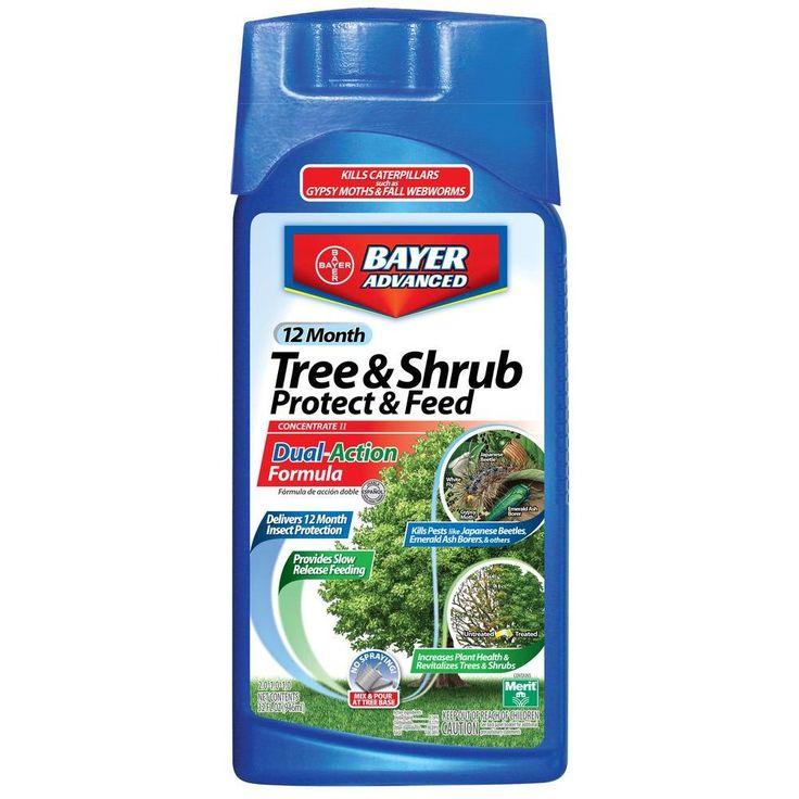 Bayer Advanced 32 oz. Concentrate Tree and Shrub Protect with Feed-701810A - The Home Depot
