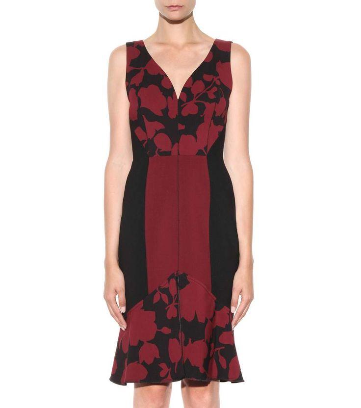 mytheresa.com - печатных шерстяное платье - роскошь мода для женщин / дизайнер…