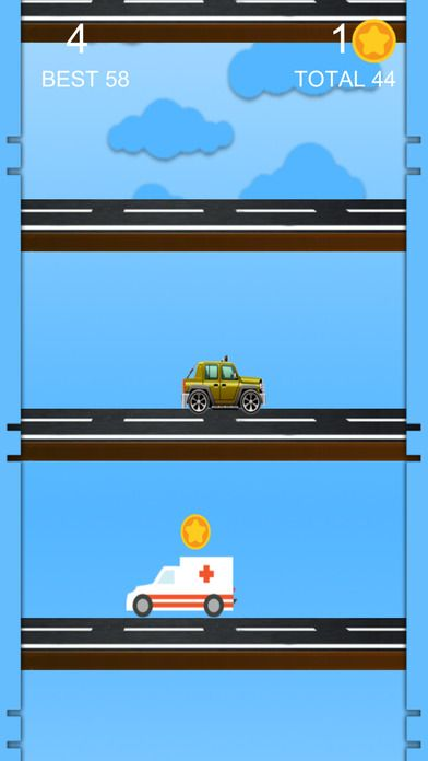 High Car Jump Live by BringItOnGames for iOS and Android