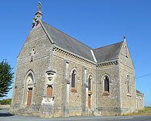 Chapelle Notre-Dame de Toutes Joies..Gétigné. Pays de la Loire