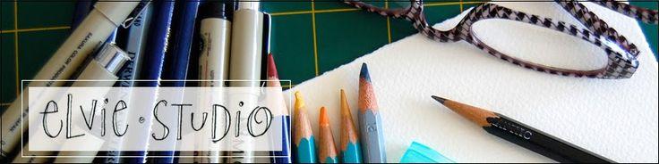 .: Elvis Studios, Creative Ideas, Studios Art, Art Blog, Watercolor Pencil, Art Journals, Journals Blog, Inspiration Mondays, Fiber Art