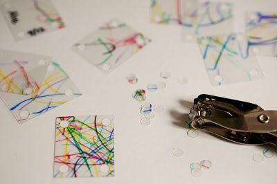 click on link for good info on how to shrink plastic for jewellery   http://www.rustandsunshine.com/2012/04/shrinky-bracelet.html